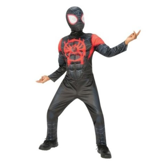 NEW Miles Morales Spider-Man Spiderverse Costume S